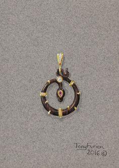 Tony FURION Design Gouache gouaché joaillerie dessin bijou jewellery jewelry rendering #Design #Gouache #gouaché joaillerie #dessinbijou #bijou #jewellery #jewelry #rendering #diamant #diamond