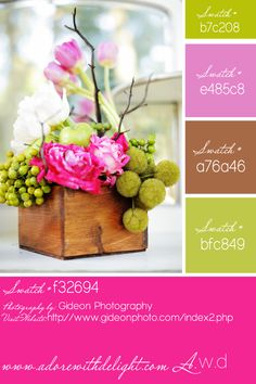 PG.46 Our Custom Color Palettes — Adore with Delight Daily