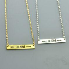 Fashion perhiasan berani pendant kalung hadiah untuk wanita gadis N1939