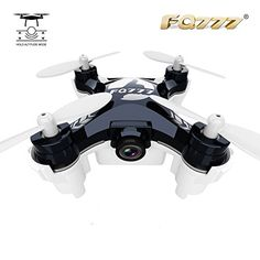 FQ777954 Mini RC Quadcopter Drone WiFi FPV Real Time Transmission with 03MP Camera Black >>> Read more  at the image link.Note:It is affiliate link to Amazon.