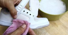 Cleaning white sneakers however is not that difficult and there are many DIY instructions online on how to keep your sneakers white and bright. How To Clean White Shoes, Clean Shoes, White Sneakers, High Top Sneakers, White Adidas Originals, Ideas Para Organizar, Natural Cleaning Products, Green Life, Refashion