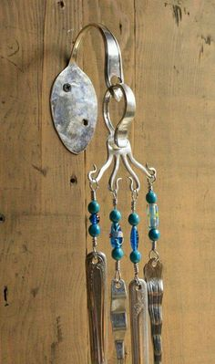 Spoon wind chimes