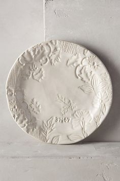 """plumes-feathers: """" Forest Walk Side Plate @Anthropologie """""""