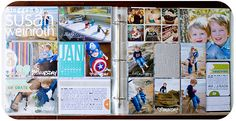 love her project life layouts - great photography and color throughout