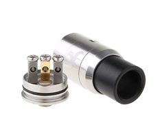 For all you cloud chasers, The Dark Horse Clone RDA has a removable 510 drip tipThe POM top cap lid is removable for easy access to the deck without removing the top cap and the lid also works as a heat insulator.6 air control holes on the sleeve and is22mm diameter. *Note: Use this device at your own risk, this device is for advanced users. >> Enter To Win The Dark Horse RDA clone Giveaway << http://FreeVapeSpot.com/