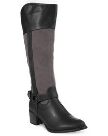 New Women Shoes Boots Flat Boots Kneehigh Boots Rage Quilted Riding Boots