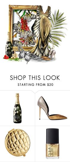 Butterflies by neverboring on Polyvore featuring Tom Ford, Christian Dior, Estée Lauder, NARS Cosmetics, Perrier-Jouët and Elie Saab