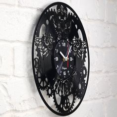 Gift ideas for adults and youth Best Rap Music Band Unique Modern Art Get unique bedroom or kitchen wall decor Rap Music Fans Gift Vinyl Record Wall Clock