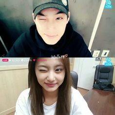 #MinTzuSimilar They are both doing a wink on their birthday v live The most adorable wink - Mingyu: 170406 Tzuyu: 170614 _ cap on v live - #MinTzu #2yu #TzuMin #KimMingyu #ChouTzuyu #Mingyu #Tzuyu #MingyuTzuyu #민규 #쯔위 #민쯔 #visualcouple #97liner #99liner #kpopcouple #Seventeen #Twice #SevenTwice #SeventeenTwice #TwiceSeventeen #twiceteen #svtwice #Pledis #JYP #Signal #Al1 #Dont_Wanna_Cry 誕生日
