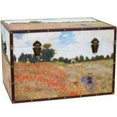 Found it at Wayfair - Monet's Poppies Trunk