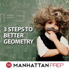 GMAT Math! Read on for 3 Steps to Better Geometry #businessschool#learn#study