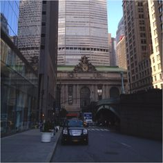 Grand Central Terminal - view from Park Ave
