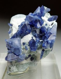 Benitoite   Benitoite Gem mine  San Benito County, California