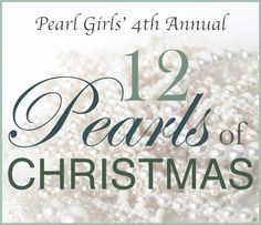 12 Pearls of Christmas more than 20 prizes are being given away! #giveaway Enter here: