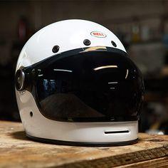 Union Garage NYC | Bell Bullitt with smoke bubble shield