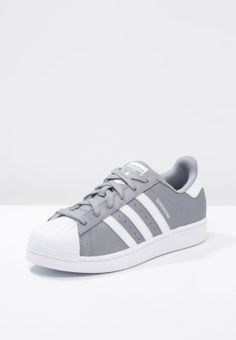 adidas Originals SUPERSTAR - Sneakers - grey/white - Zalando.se