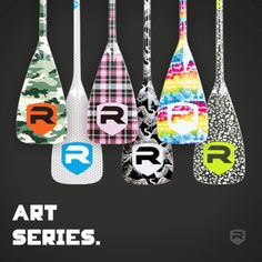 "VANTAGE Art Series Carbon Fiber SUP Paddles: The Art series paddles are our Full Carbon Fiber Vantage paddle with graphics applied to the finish.  The art series paddles come in 2 blade, widths 8"" and 8.5"" http://www.rivierapaddlesurf.com/collections/sup-paddles/products/riviera-vantage-r8-carbon-fiber-sup-paddle $399. www.standuppaddlemagazine.com #paddles #sup #standuppaddle"