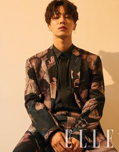 Kikwang rocks suits and talks about his goals with 'Elle' | allkpop.com