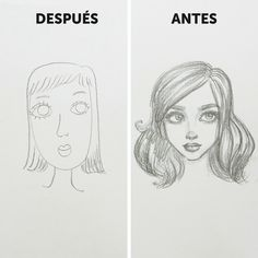 How to draw faces (for beginners). Part Two - How to draw faces (for beginners). Part Two How to draw faces (for beginners). Part Two Drawing Heads, Cool Art Drawings, Pencil Art Drawings, Drawings Of Faces, Cartoon Eyes Drawing, Indie Drawings, Anime Face Drawing, Mouth Drawing, Cartoon Hair