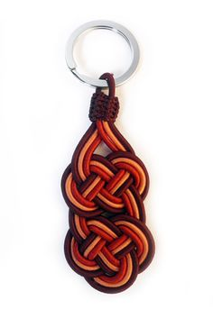 Handwoven key chain by Serpentsea