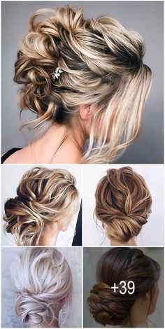 39 Enchanting Wedding Updos ❤️ Still can not choose a wedding hairstyle? Take a look at our collection of enchanting wedding updos for perfect bridal Medium Hair Styles, Curly Hair Styles, Mother Of The Bride Hair, Wedding Updo, Wedding Bride, Gold Wedding, Wedding Hair Inspiration, Brown Blonde Hair, Medium Blonde