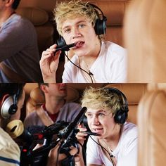 """""""Good Morning, I am Niall Horan and I will be your pilot today. Thank you for traveling One Direction airlines and have a great day...""""  *The camera stops.*  """"Now I get a cookie?"""""""