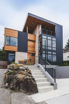 Modern Office houses design plans exterior design exterior design houses home architecture house design houses Amazing Architecture, Contemporary Architecture, Interior Architecture, Contemporary Design, Installation Architecture, Garden Architecture, Architecture House Design, Layered Architecture, Post Contemporary