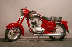 1954 start of production of Jawa 250 and Jawa 350 motorcycle