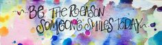 Be the Reason Someone Smiles Today. Mini Gifts by worDSMITHstudios, $5.00