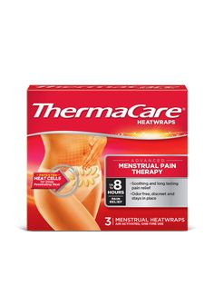 What: ThermaCare Menstrual Heat Wraps, $7 for three  What for: Period cramps
