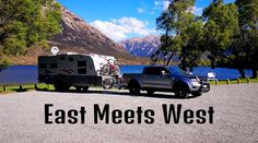 East meets West while travelling from Rangiora across Arthur's Pass to the amazing West Coast. Our first stop was to be Lake Pearson. House Sitting, South Island, Alps, East Coast, Caravan, New Zealand, National Parks, Old Things, Meet