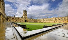 The House - Christ Church College, Oxford - the oldest college in Oxford, and alma mater to 13 prime ministers