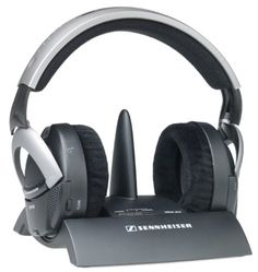 Sennheiser RS 85 On-Ear HiFi Stereo Wireless Headphones (Silver) (Discontinued by Manufacturer)