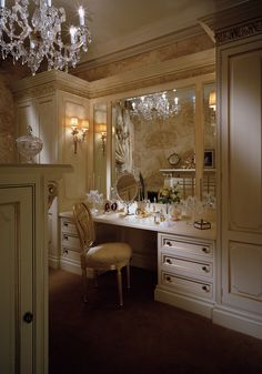 Luxury Closet Design & High End Closet Systems Clive Christian Kitchens, Küchen Design, House Design, Closet Vanity, Closet Dresser, Shoe Closet, Kitchen Showroom, Dressing Area, Dressing Rooms