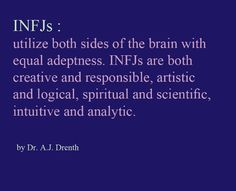 INFJ personality although still relatable to INFP's Infj Mbti, Intj And Infj, Enfj, Infj Traits, Rarest Personality Type, Infj Personality, Myers Briggs Personality Types, Personality Psychology, Personalidad Infj