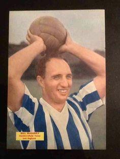 Bill McGarry of Huddersfield Town in 1956.