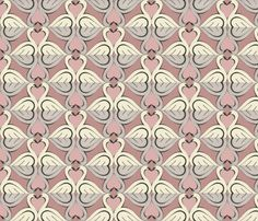 The Swan I Love fabric by ceanirminger on Spoonflower - custom fabric