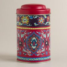 One of my favorite discoveries at WorldMarket.com: Istanbul Tea Tin, Set of 4