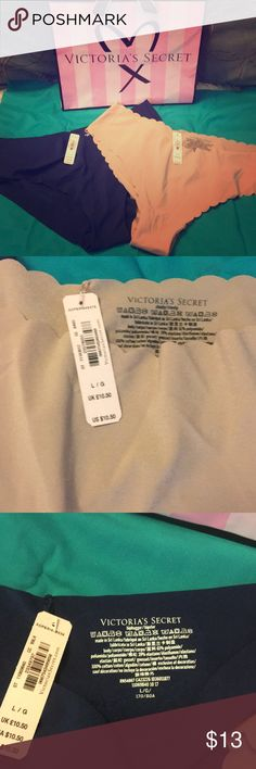 Two pair Brand new Victoria's Secret panties Invisible panty Brand new with tags! Victoria's Secret Intimates & Sleepwear Panties