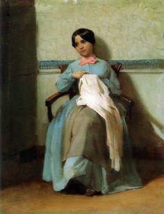 A Portrait of Lonie Bouguereau