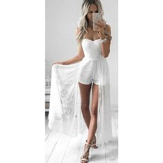 30 Trending And Feminine Summer Outfits From Fashionista : Kirsty Fleming Off The Shoulder Sexy and Bridal Princess Romper Charmer Une Femme, Kirsty Fleming, Summer Outfits, Cute Outfits, Winter Outfits, Casual Outfits, Romper Dress, Jumpsuit Outfit, Romper Pants