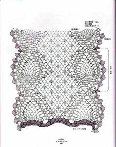 Free diagrams for crochet pineapple stitches! The ultimate resource for creating pineapple stitch crochet for… Crochet Motifs, Crochet Diagram, Crochet Chart, Thread Crochet, Filet Crochet, Crochet Doilies, Crochet Stitches, Doily Patterns, Stitch Patterns