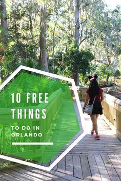 10 Free Things to do in/near Orlando! via /runcarmyrun/
