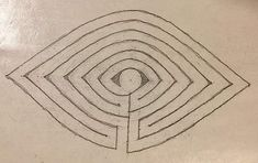 Labyrinth Garden, Labyrinth Maze, Eye Study, Mandala, Labrynth, Garden Studio, Land Art, Acrylic Art, Public Art