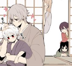 Oboro x Gintoki Best Comedy Anime, Gintama Wallpaper, Wise Monkeys, Wolf Love, Anime Love Couple, Anime One, Slayer Anime, Anime Demon, Cute Drawings