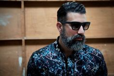 Imperial Beard look to Enhance Your Hipster Look