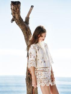 La Bohème: C Magazine March 2015 by Owen Bruce - Valentino Spring 2015 dress