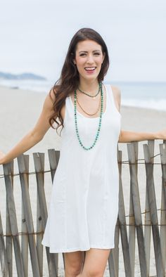 From Street to Beach the Seamed Tunic from @Winnie & Kat is perfect!