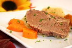 Tafelspitz gekochtes Rindfleisch mit Beilagen - ein Gedicht!!