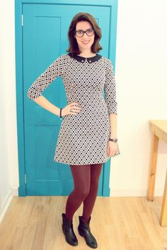 Francoise dress by RockingStitch - Designed by Tilly and the Buttons. #SewingFrancoise